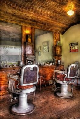 Great opportunity to own  Barber shop for sale in busy town of surrey
