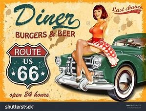 Cool 1950s American Themed Diner - SW London