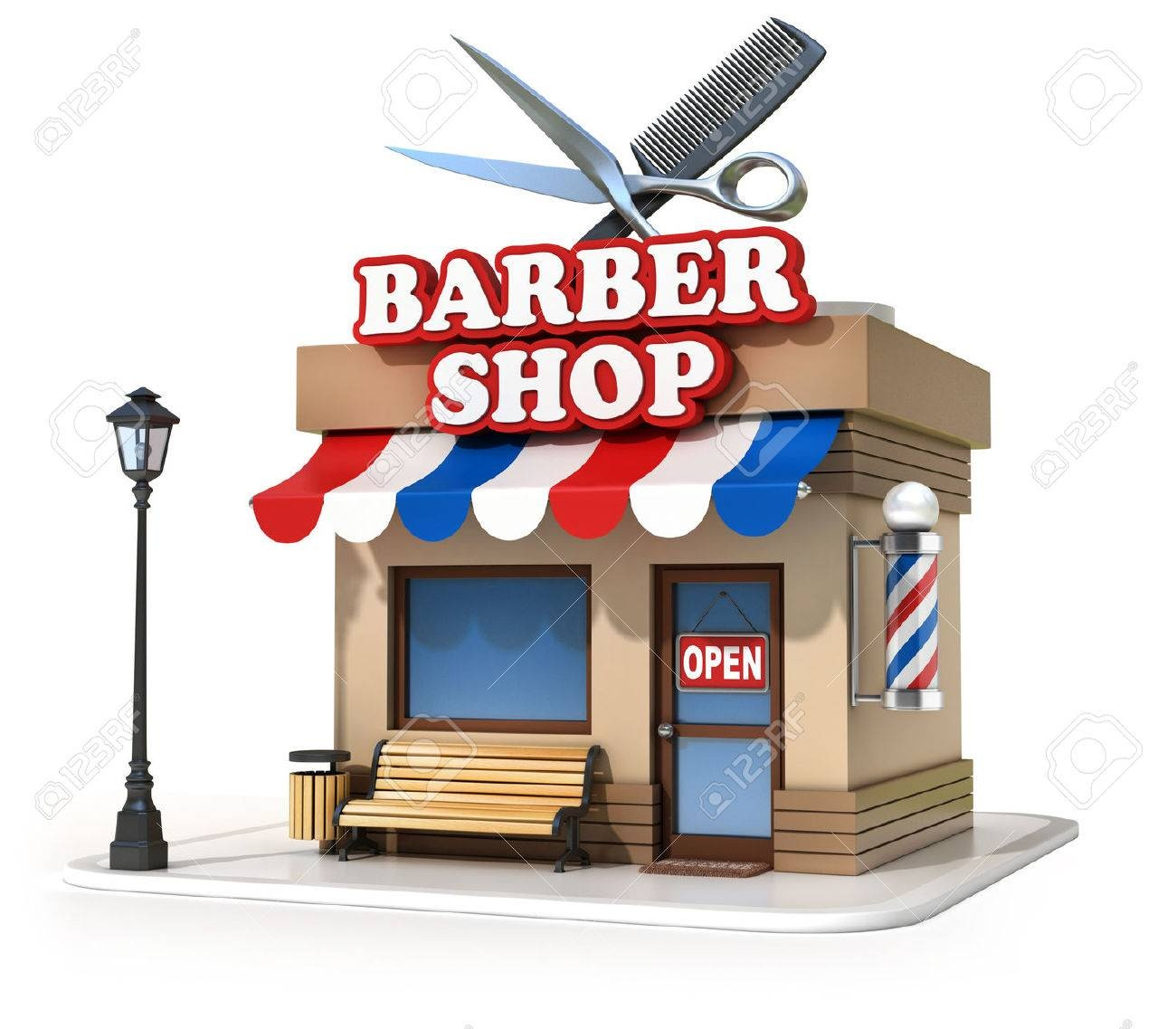 A Busy Barber Shop in a Prime SW London Location