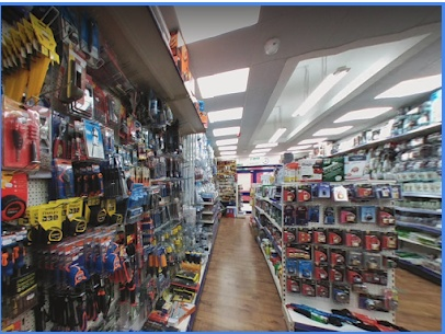 Thriving Hardware and Ironmonger on busy High Street in Inner London