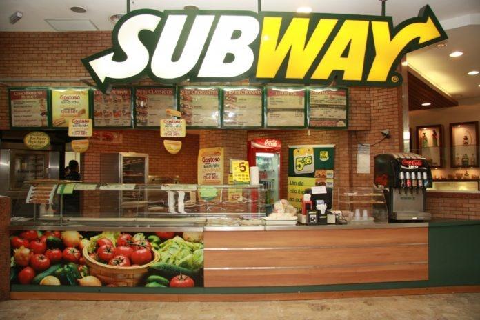 Established Subway - Busy High Street Birmingham