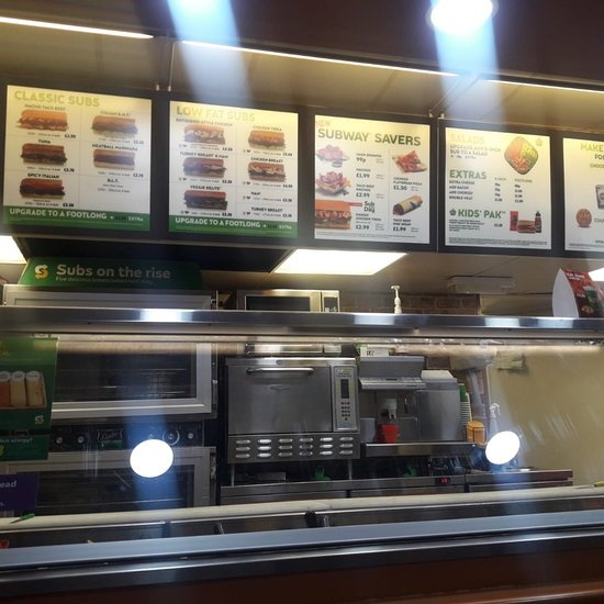 Subway Franchise opportunity not to be missed.