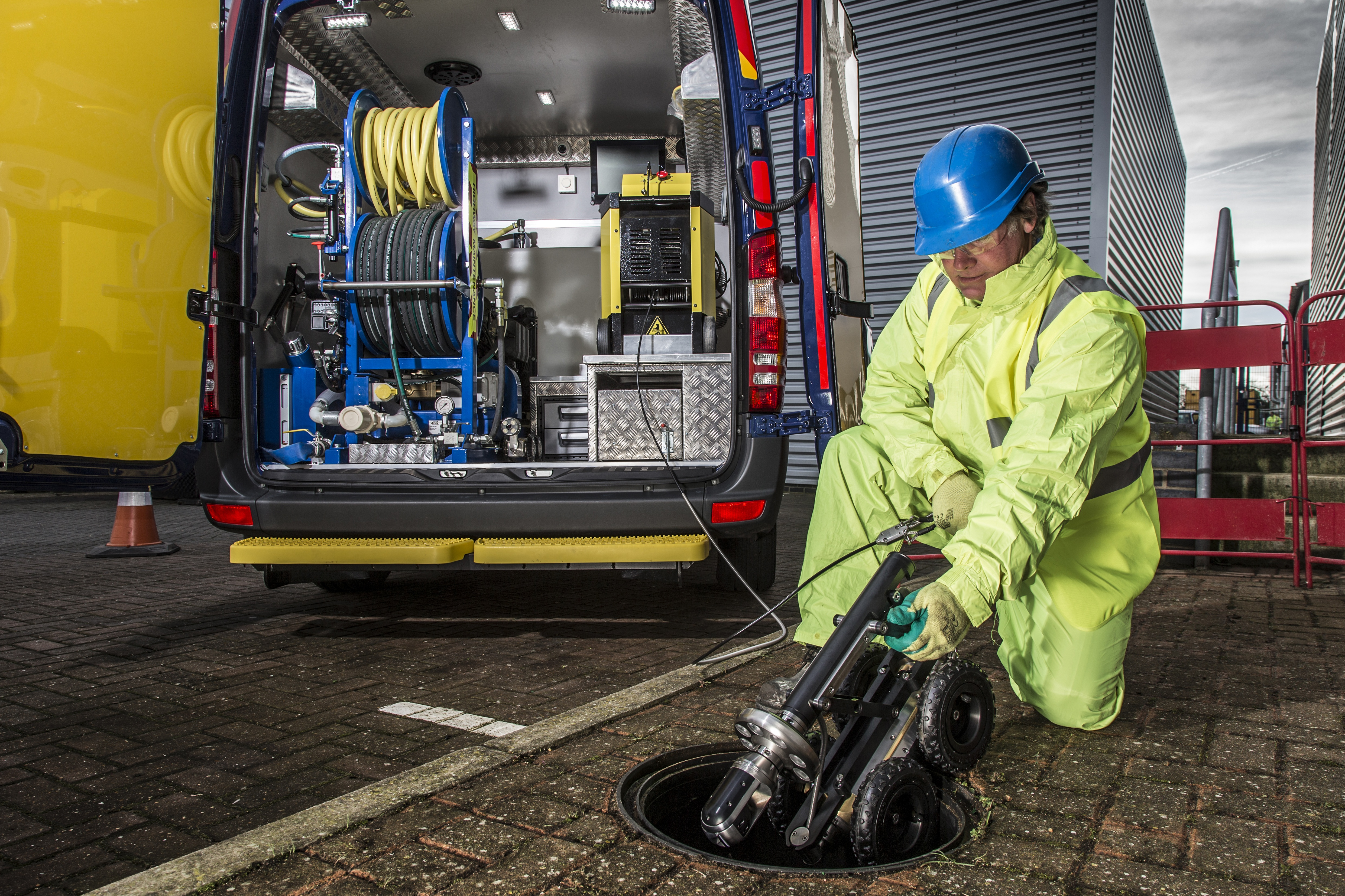 Drainage services business