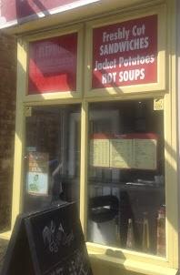 Small Takeaway Cafe - Islington, London - Zone 1